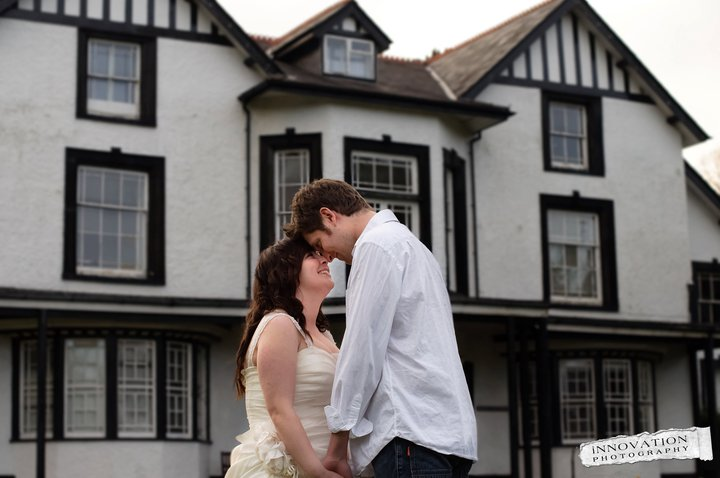 Bible College of Wales wedding
