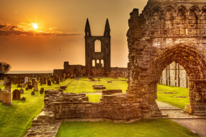 St. Andrews Cathedral Ruins, Scotland