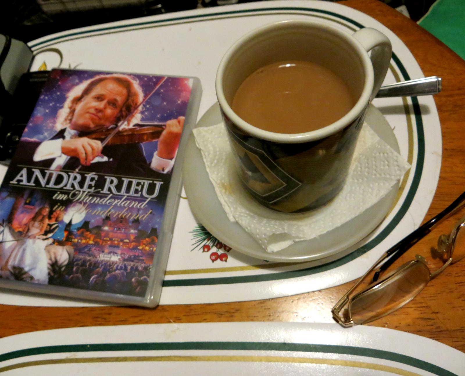 Andre Rieu and Tea