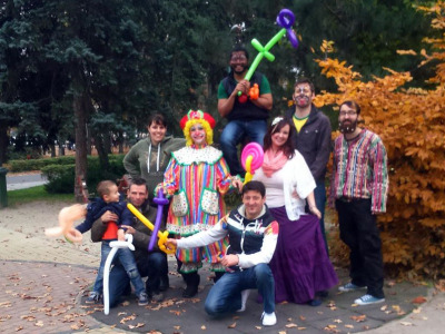 Clowning around for Outreach…
