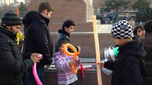Working with Children in Armenia